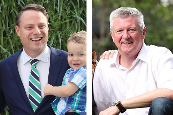 Article image for Brisbane Lord Mayor Adrian Schrinner goes head-to-head with challenger Pat Condren