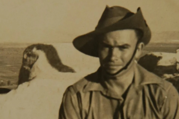 Article image for 'It's unbelievable': 103-year-old veteran recalls battle from 80 years ago