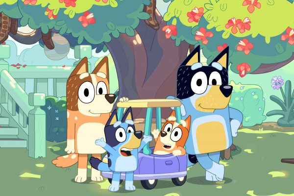 Article image for Bluey's star shines on the international stage