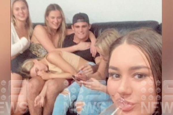 Article image for Female friends of Nathan Cleary fined