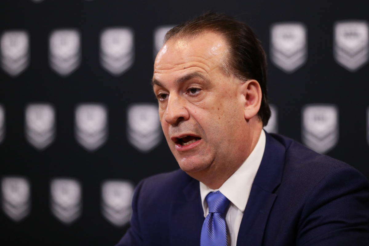 Article image for Peter V'landys: NRL will stamp out 'un-Australian' and 'inhumane' online bullying