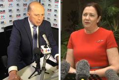 'Beyond a disaster': Peter Dutton accuses states of 'social experiment' sending people broke