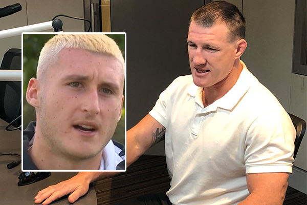 Article image for 'He's a two-faced coward': Paul Gallen tears into Mark Carroll over Bronson Xerri comments