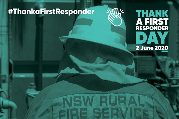 Article image for National day established to acknowledge first responders