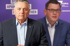 'He's dead and buried': Ray Hadley calls time on Victorian Premier as state records over 300 cases