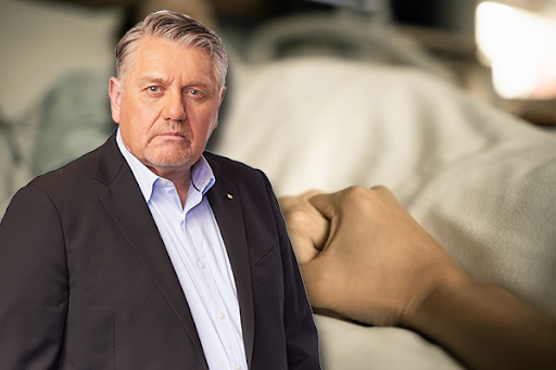 Article image for 'What sort of bastardry is this?': Ray Hadley fires up over treatment of dying father