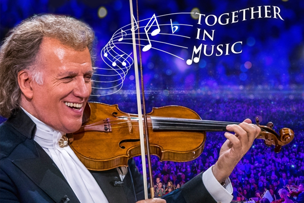 Article image for How André Rieu's son won him over with COVID compromise