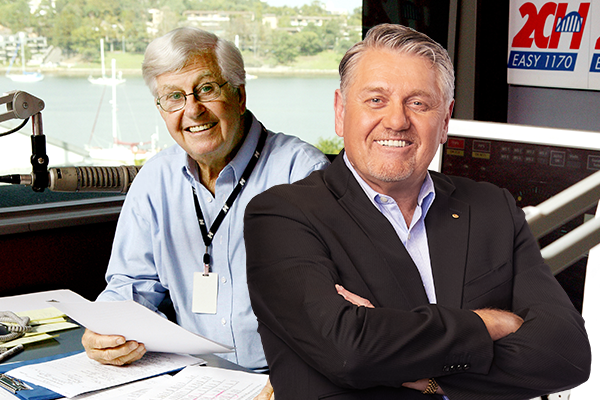 Article image for Ray Hadley farewells his friend Bob Rogers with hilarious radio tales
