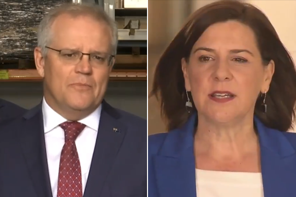 Article image for Prime Minister accused of 'propping up' Queensland opposition