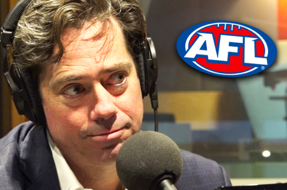 Article image for AFL boss' message to Queensland 'on behalf of Victorians'