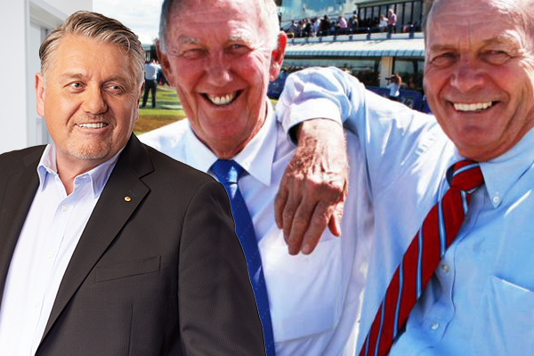 Article image for Ray Hadley and John Singleton team up against Gerry Harvey