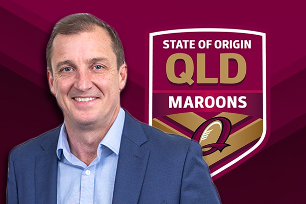 Article image for 'I love that story!': Neil Breen's school memory stuns Maroons great