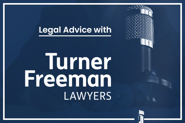 Article image for Legal advice with Turner Freeman: Personal injury