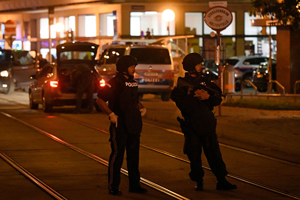 Article image for Police operation underway after active shooting in Austria