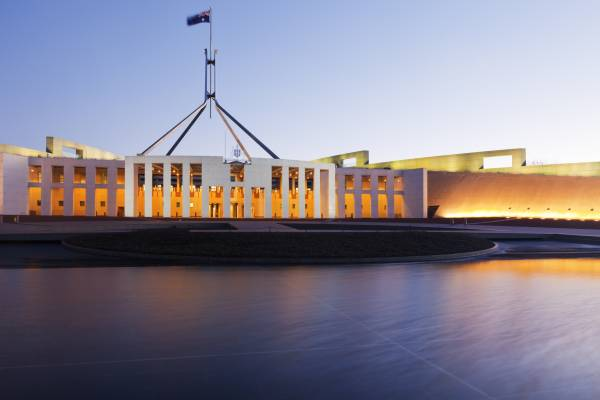 Article image for The 'nice moment' in federal parliament yesterday