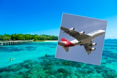 Major route missed in government's half-price flights 'because that's the way it is'