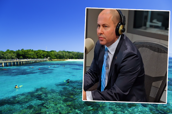 Article image for Josh Frydenberg tight-lipped on tourism package after FNQ visit