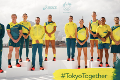 The Australian Olympic Team's new uniform has been unveiled