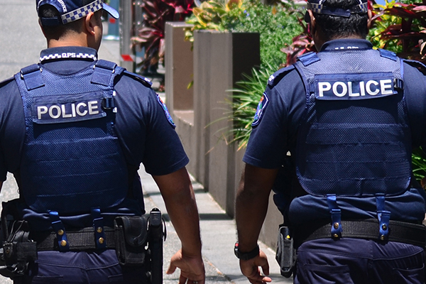 Article image for Police presence builds in CBD streets over protest intelligence