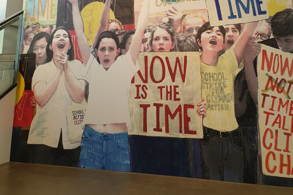 Article image for GOMA exhibition encourages children to protest