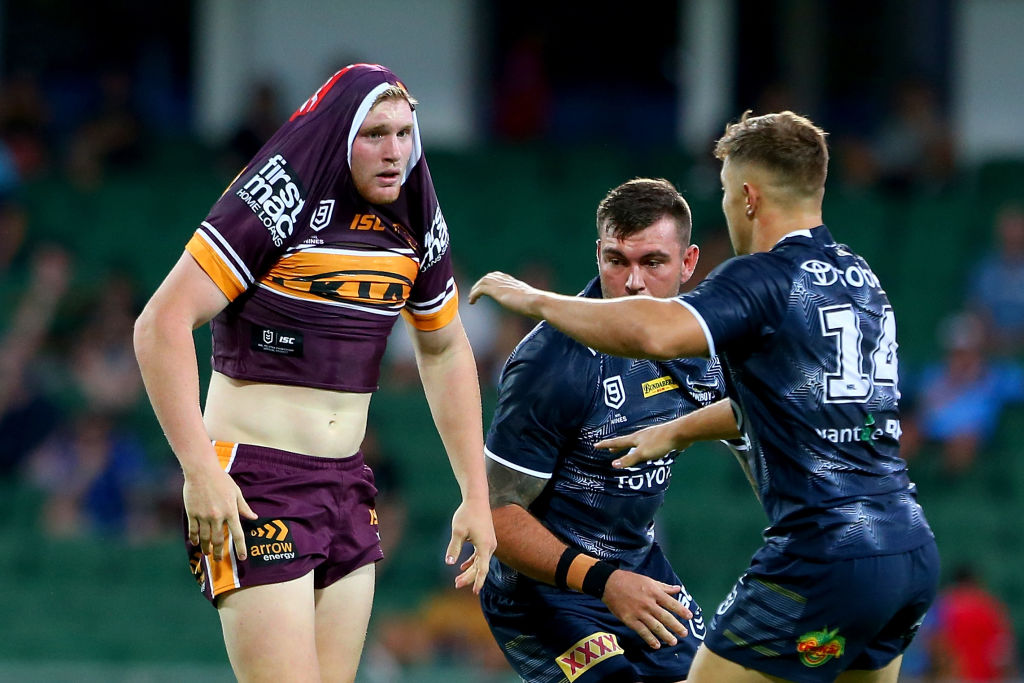 Article image for Tom Dearden committed to 'turning around' Broncos losing streak