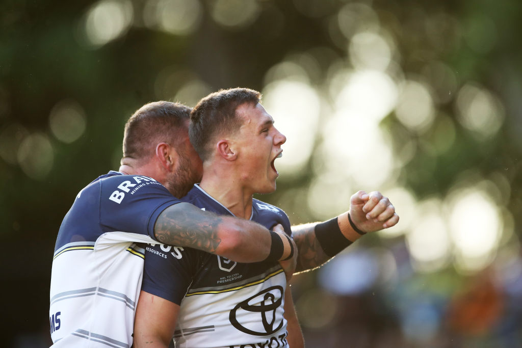 Article image for Scott Drinkwater keen to stay at the Cowboys