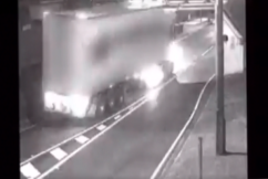 Renewed calls for flashing warning lights for bridges after truck crash causes chaos