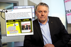 Ray Hadley responds to Kevin Rudd's 'disgraceful' social media antics