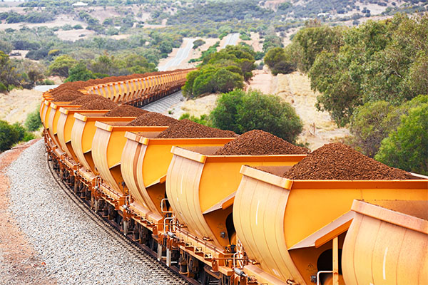 Article image for Fortescue on track for best-ever year as iron ore prices soar