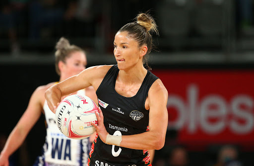 Article image for Netball star Kim Revaillion's message to other mums