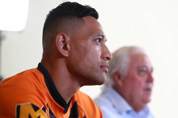 Article image for The potential obstacle for Israel Folau's comeback bid