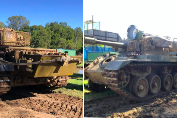 Article image for Ex-army tanks for sale: How you can own a slice of Australian history!