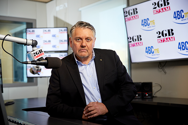 Article image for 'I've had a gutful': Ray Hadley addresses death threat prompting police investigation