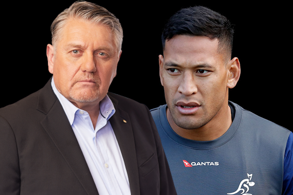 Article image for Ray Hadley receptive to Israel Folau's return under one condition