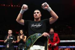 'Justis Huni fever': High hopes for boxing's next big thing