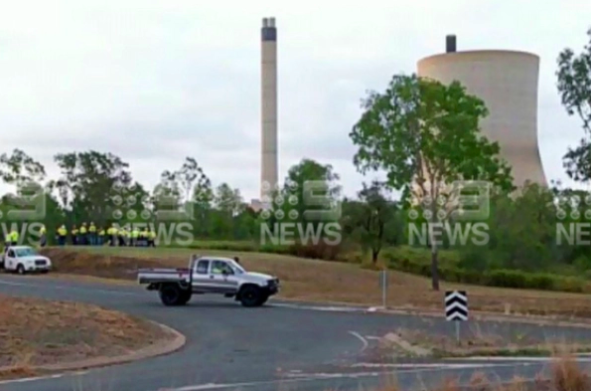 Article image for Revealed: The first image of the damage at Callide Power Station