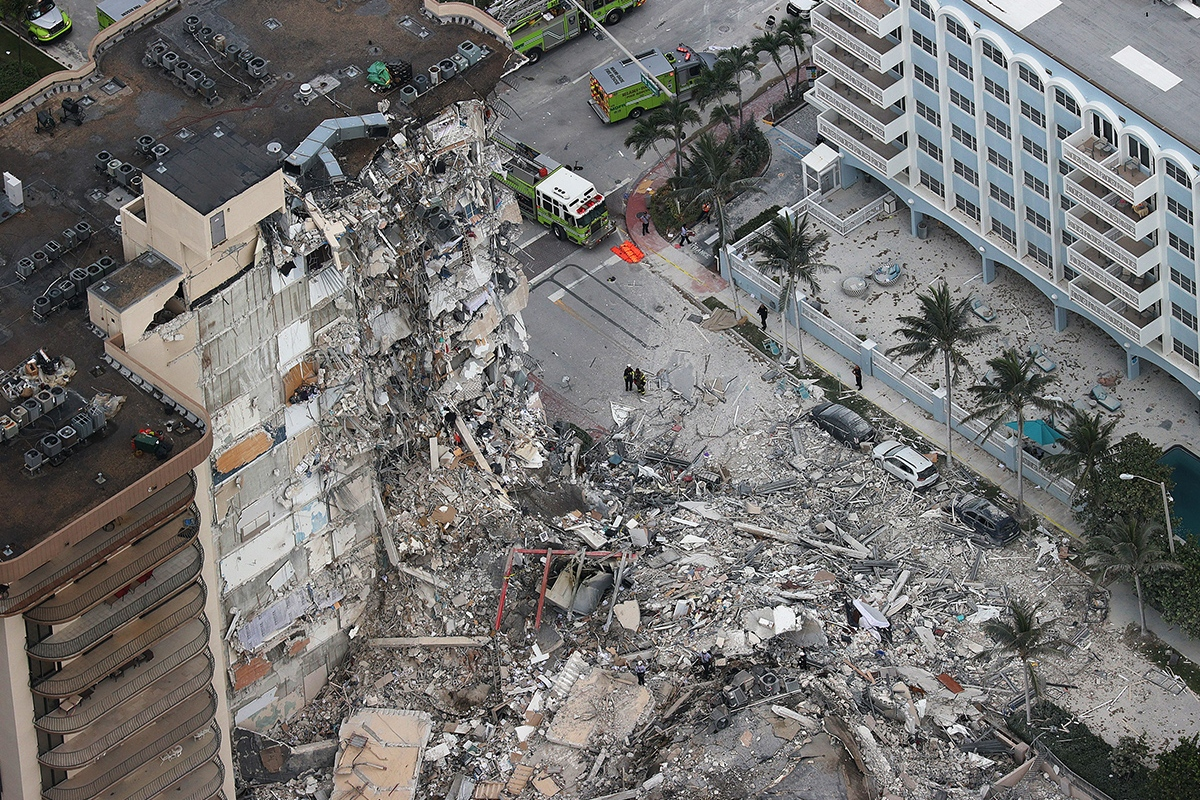 Article image for 99 people missing after Miami apartments collapse