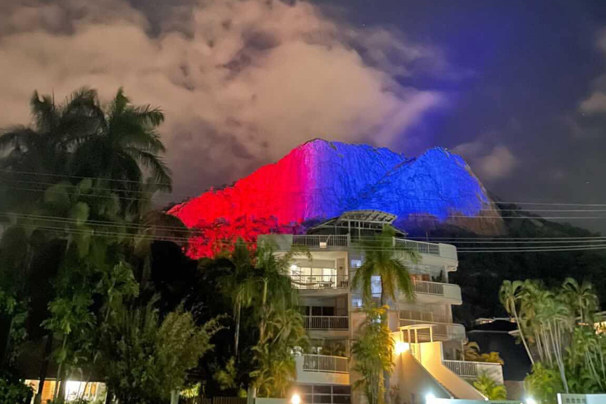 Article image for Townsville 'going off' as State of Origin party arrives in city