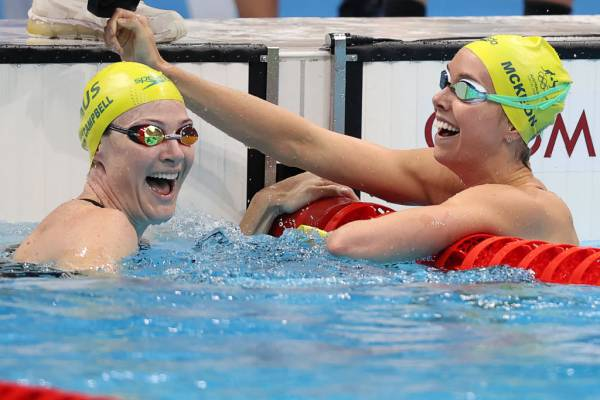 Article image for 'Unbelievable' strength of Cate Campbell and Emma McKeon