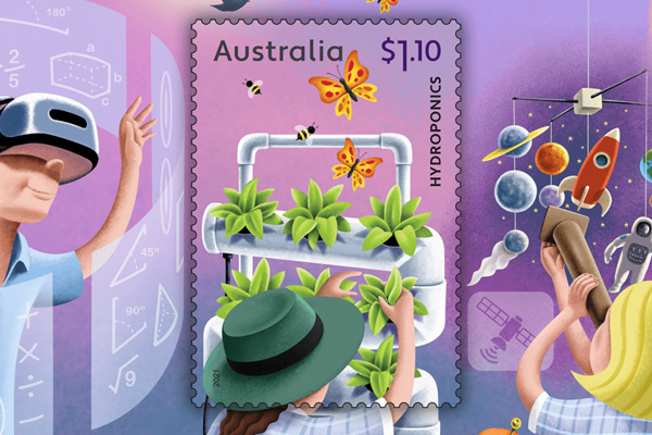 Article image for From hobby to hydroponics: Australia Post launches collection for young scientists