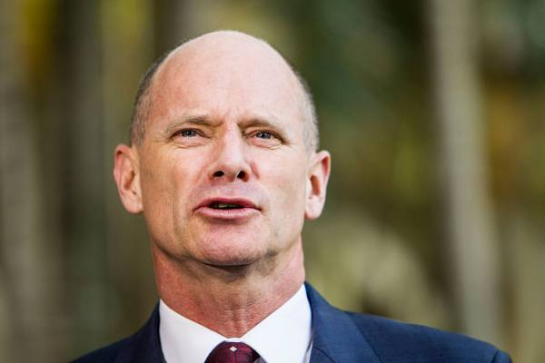 Article image for Campbell Newman addresses rumours around step into federal politics