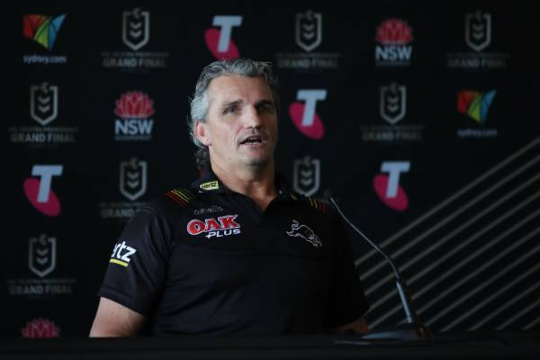 Article image for Panthers 'heading in the right direction' after injury run