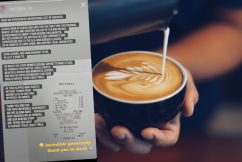 'Speechless!': Mystery man's random act of kindness at Coolangatta cafe