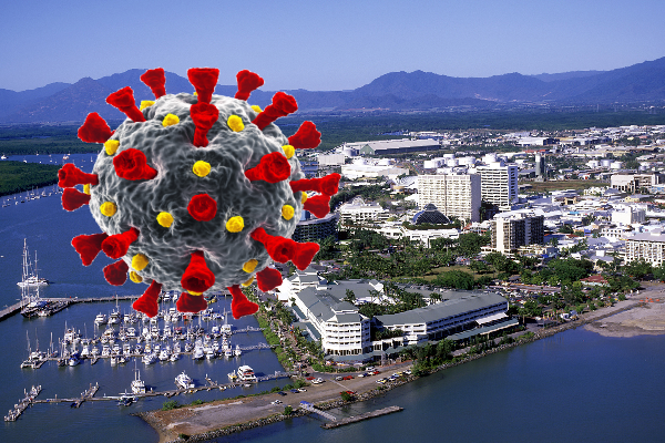 Article image for Positive COVID case in Cairns a 'wake-up call' for the community