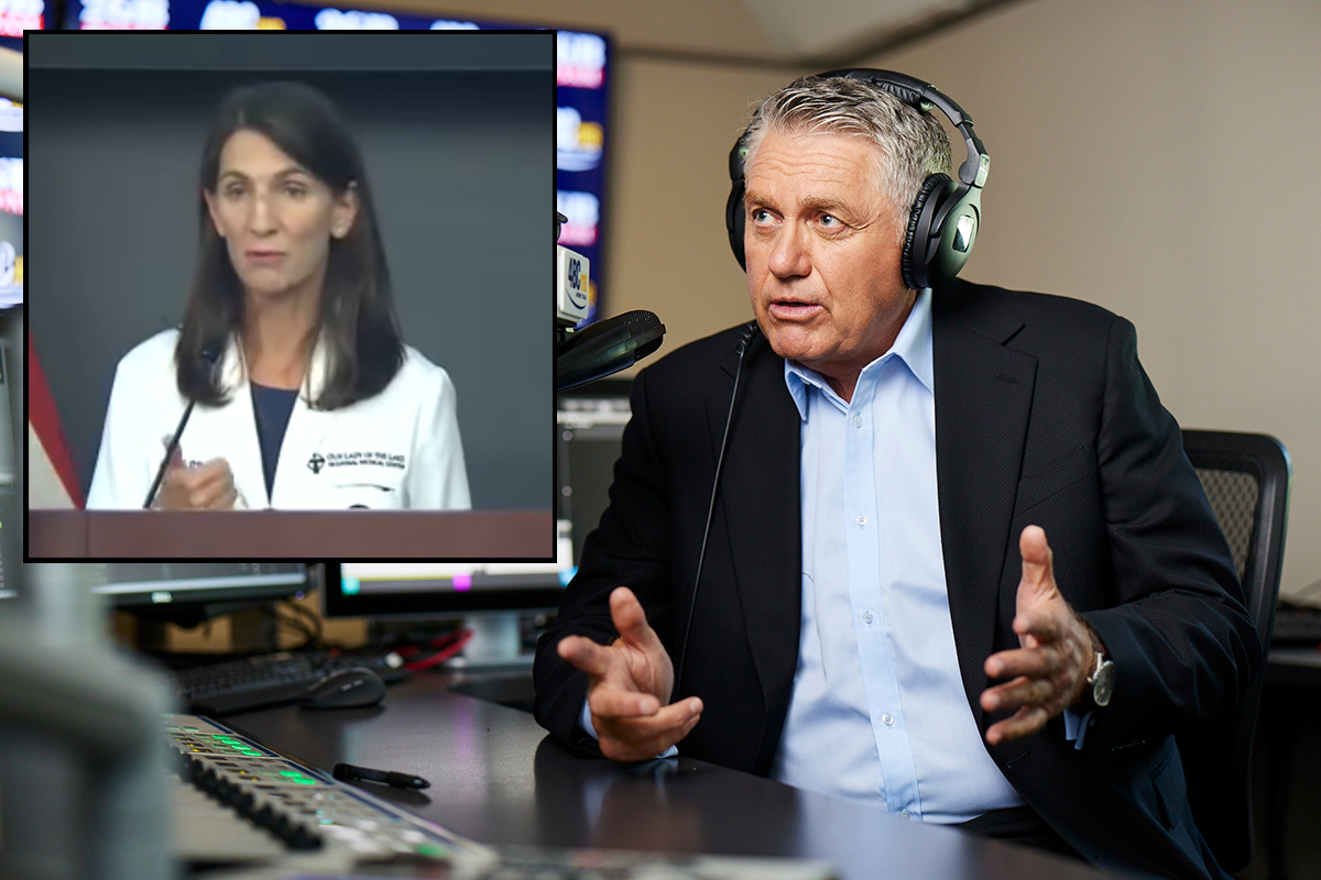 Article image for US doctor's dire speech 'worth listening to' for Australians, Ray Hadley says